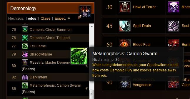 Demonology Warlock tanking??? Carrionswarm
