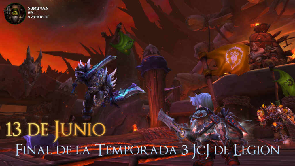 La temporada 3 del jcj de legion terminar el 13 de junio for Cocina wow legion